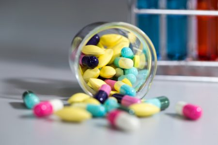 Pharmaceutical Drugs for patient in hospital and for education in laboratory.